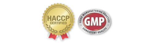 GMP and HACCP Certified
