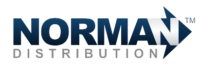 Norman Distribution Retina Logo