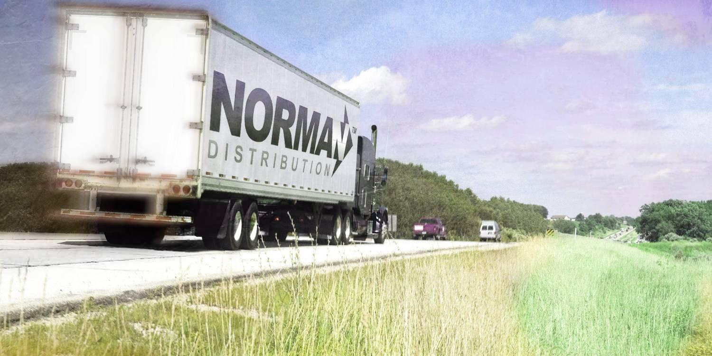 Norman Distribution Truck
